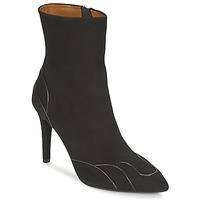 Topánky Ženy Čižmičky Heyraud DARLING čierna