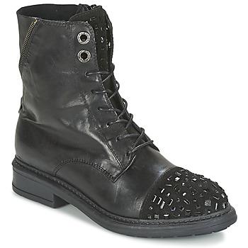 Topánky Ženy Polokozačky Tosca Blu KATE čierna