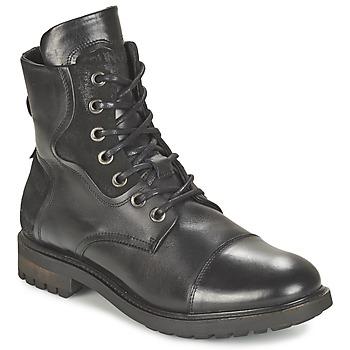 Topánky Muži Polokozačky Bunker RESCUE Čierna