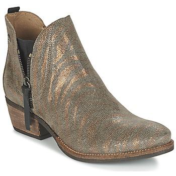 Topánky Ženy Polokozačky Coqueterra LIZZY Zlatá