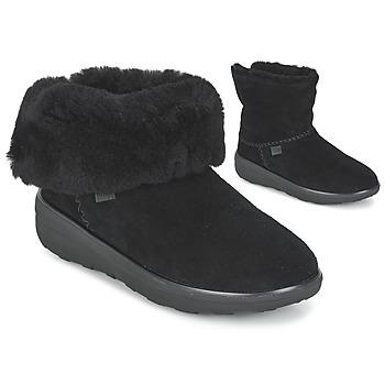 Topánky Ženy Polokozačky FitFlop MUKLUK SHORTY 2 BOOTS Čierna