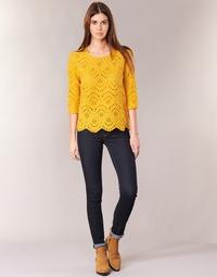 Oblečenie Ženy Džínsy Slim Pepe jeans NEW BROOKE M15 / Modrá / Raw