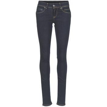 Oblečenie Ženy Rifle Slim  Pepe jeans NEW BROOKE M15 / Modrá