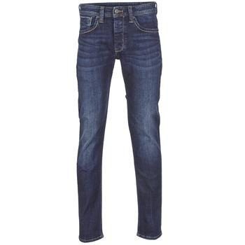Oblečenie Muži Rovné džínsy Pepe jeans CASH Z45 / Modrá