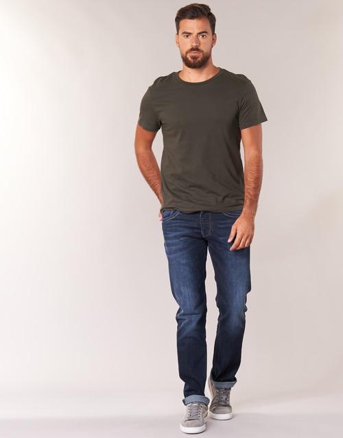 Oblečenie Muži Rovné Rifle  Pepe jeans CASH Z45 / Modrá