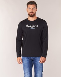 Oblečenie Muži Tričká s dlhým rukávom Pepe jeans EGGO LONG Čierna