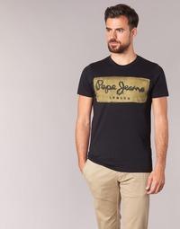 Oblečenie Muži Tričká s krátkym rukávom Pepe jeans CHARING Čierna