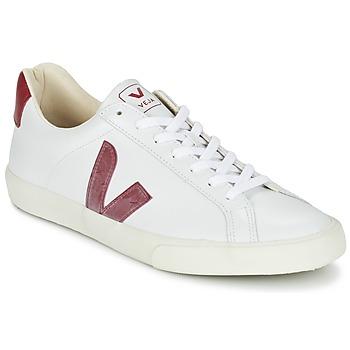 Topánky Nízke tenisky Veja ESPLAR Biela / červená