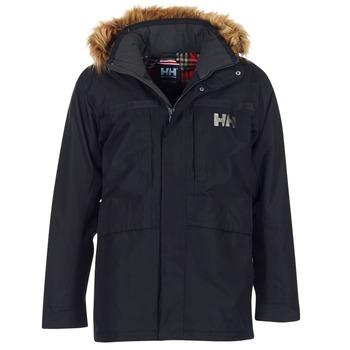Oblečenie Muži Parky Helly Hansen COASTAL 2 PARKA Čierna