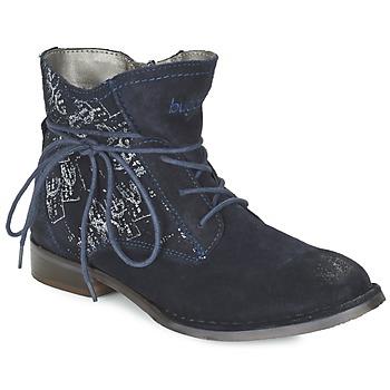 Topánky Ženy Polokozačky Bugatti LEEALE Námornícka modrá