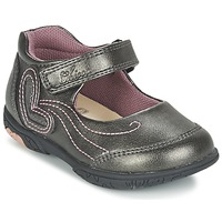 Topánky Dievčatá Balerínky a babies Chicco CINDRA šedá