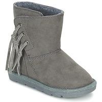Topánky Dievčatá Polokozačky Chicco CHICA šedá