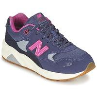 Topánky Dievčatá Nízke tenisky New Balance KL580 Fialová  / Ružová
