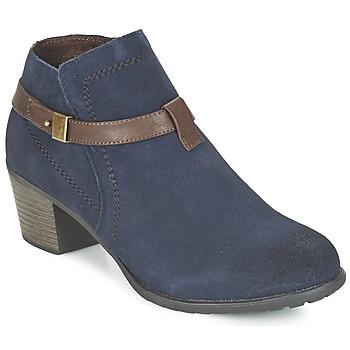 Topánky Ženy Čižmičky Hush puppies MARIA Námornícka modrá