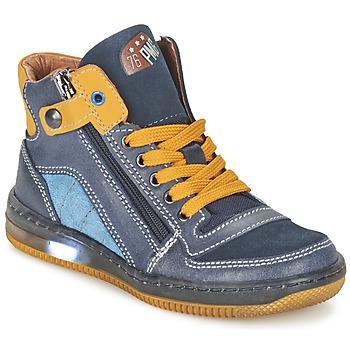 Topánky Chlapci Členkové tenisky Primigi ADAM-E Modrá / žltá
