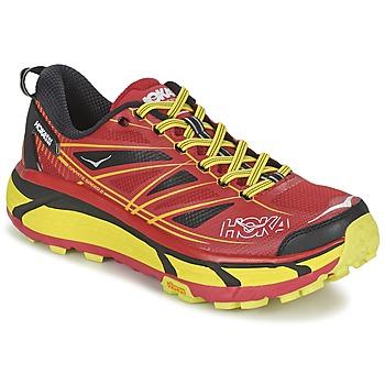 Topánky Muži Bežecká a trailová obuv Hoka one one MAFATE SPEED 2 červená / žltá citrónová