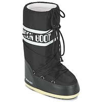 Topánky Snehule  Moon Boot MOON BOOT NYLON Čierna