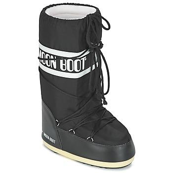 Topánky Obuv do snehu Moon Boot MOON BOOT NYLON Čierna