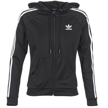 Oblečenie Ženy Vrchné bundy adidas Originals SLIM FZ HOODIE Čierna