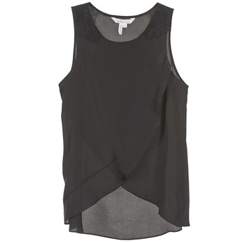 Oblečenie Ženy Tielka a tričká bez rukávov BCBGeneration 616725 Čierna