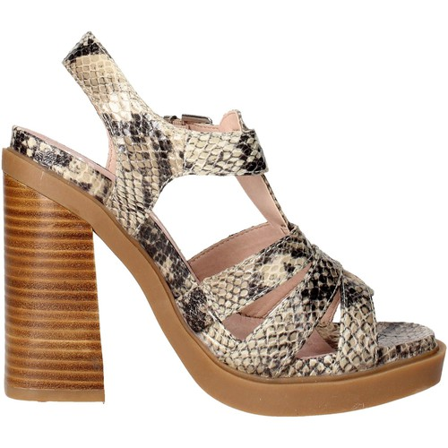 Topánky Ženy Sandále Bronx 84436-B Brown Taupe