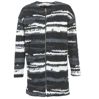 Oblečenie Ženy Kabáty Bench EVENING čierna / Biela / šedá