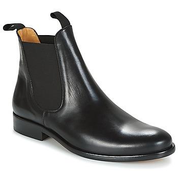 Topánky Muži Polokozačky Brett & Sons LOUVAL Čierna