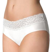 Spodná bielizeň Ženy Klasické nohavičky Julimex HIPSTER BLANC Biela