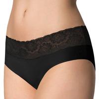 Spodná bielizeň Ženy Klasické nohavičky Julimex HIPSTER NOIR Čierna