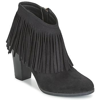 Topánky Ženy Čižmičky Elue par nous VOPBIL Čierna