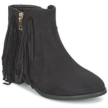 Topánky Ženy Polokozačky Elue par nous VOPFOIN Čierna