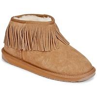 Topánky Ženy Polokozačky EMU WATERFALL Gaštanová