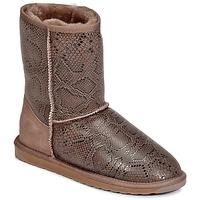 Topánky Ženy Polokozačky EMU STINGER PRINT LO Hnedá