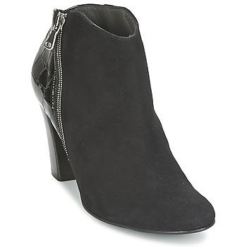Topánky Ženy Nízke čižmy France Mode NANTES Čierna / Lakovaná
