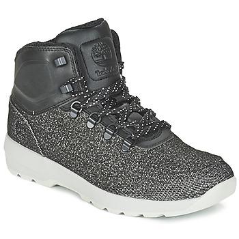 Topánky Muži Polokozačky Timberland WESTFORD MID EMBOSS čierna / šedá