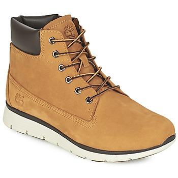 Topánky Chlapci Polokozačky Timberland KILLINGTON 6 IN žltá obilná