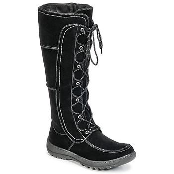 Topánky Ženy Čižmy do mesta Wildflower MORIA čierna