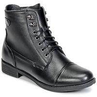 Topánky Ženy Polokozačky Wildflower BOMBAY čierna