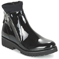 Topánky Ženy Polokozačky Regard REJABI čierna / Patent