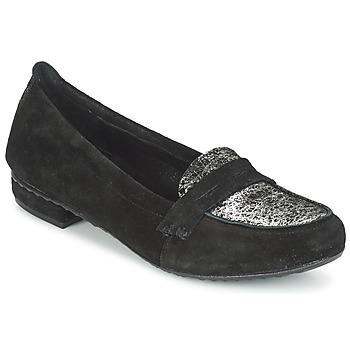 Topánky Ženy Mokasíny Regard REMAVO Čierna / Velvet