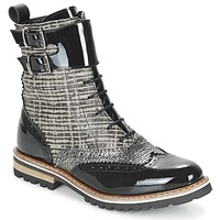 Topánky Ženy Polokozačky Regard RIFADO šedá / čierna / Patent
