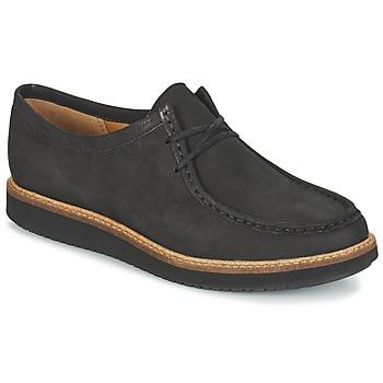 Topánky Ženy Derbie Clarks GLICK BAYVIEW čierna