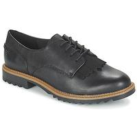 Topánky Ženy Derbie Clarks GRIFFIN MABEL čierna