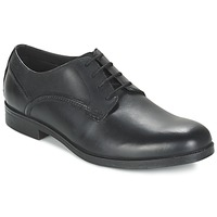 Topánky Muži Derbie Clarks BROCTON WALK čierna