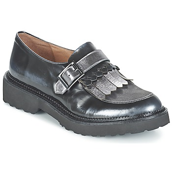 Topánky Ženy Mokasíny Mam'Zelle ROSELI Strieborná cínová