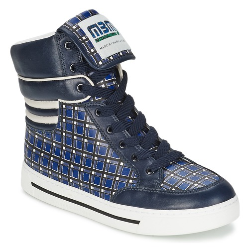Topánky Ženy Členkové tenisky Marc by Marc Jacobs CUTE KIDS MINI TOTO PLAID Modrá / Viacfarebná