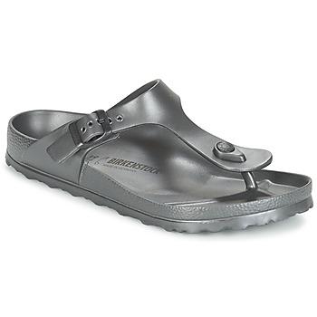 Topánky Ženy Žabky Birkenstock GIZEH EVA Antracitová / Metalická