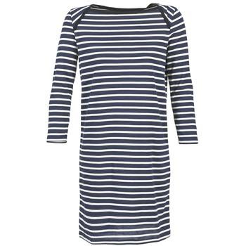 Oblečenie Ženy Krátke šaty Petit Bateau EREMATE Námornícka modrá / Biela