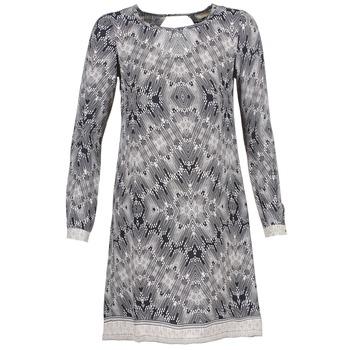 Oblečenie Ženy Krátke šaty Cream BARBRA Námornícka modrá / Biela