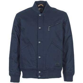 Oblečenie Muži Bundy  Lee BOMBER JCKT Námornícka modrá